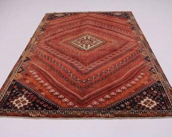 Spectacular Tribal Design S Antique Shiraz Persian Rug Oriental Area Carpet 7X10