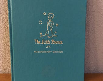 50th Anniversary Edition of The Little Prince, by Antoine De Saint-Exupery- 1983 Edition of The Little Prince