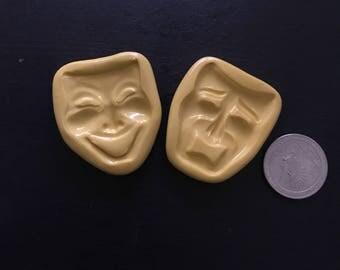 Tragedy Mask Molds