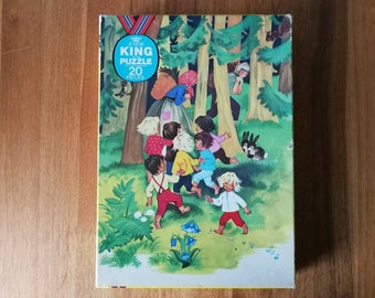 Junior King Puzzle Jig saw 20 pieces
