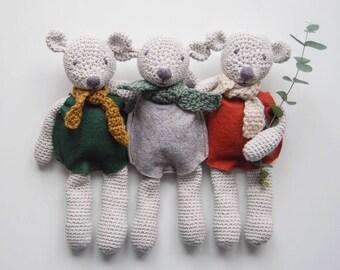 Handmade Crochet Teddy Bear