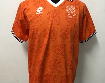 Vtg lotto holland netherland football soccer jersey