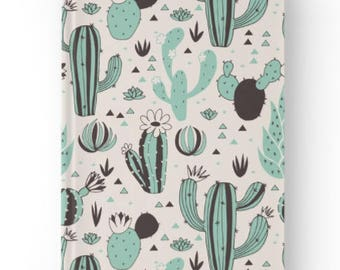 Cactus Patterned Notebook - A5 Size