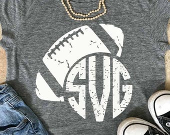 football mom svg, distressed Football SVG, football, grunge, monogram svg, vintage svg, grunge football svg, svg, DxF, EpS, shortsandlemons