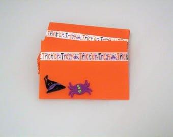 Halloween party envelopes,Halloween Orange Envelopes,Party Envelopes,Quilled Halloween Envelopes,RSVP Halloween Envelopes,Fall Envelopes.