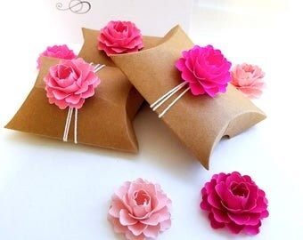 """Pink Favor Box Toppers 25 ct. 