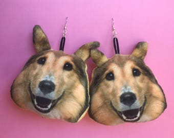 Lassie Dog Earrings