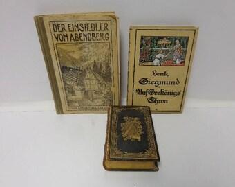 Antique German Book Lot *********1900-1920's*********