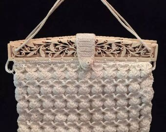 Vintage Crochet Handbag/Purse