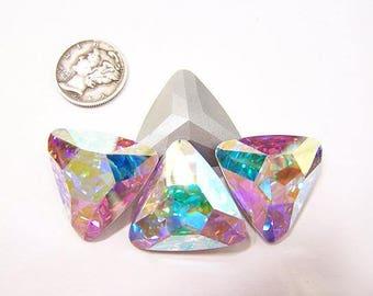 Swarovski 4727 Crystal AB F 23mm Fancy Stone (1 piece)