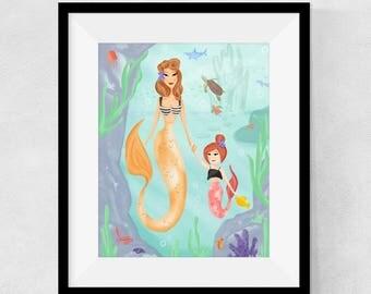 Mama Mermaid