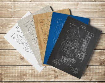Mechanical Clock Art, Vintage Clock Art, Antique Clock Decor, Wall Clock Print, Antique Wall Clock, Clock Poster, Patent, INSTANT DOWNLOAD