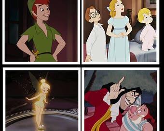 Peter Pan Inspired Coaster Set