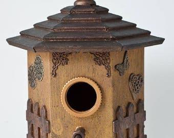 Steampunk Birdhouse - Gazebo