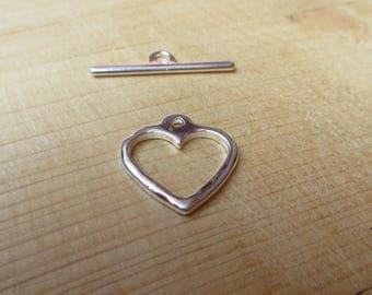 Toggle heart 20 mm x 1