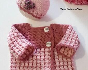little sweater + cap