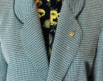 SALE Vintage 1960s Handmade Tweed Jacket