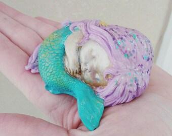Baby mermaid, Sunshine