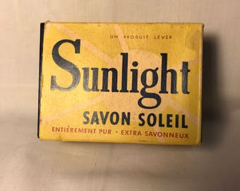 Sunlight French Soap