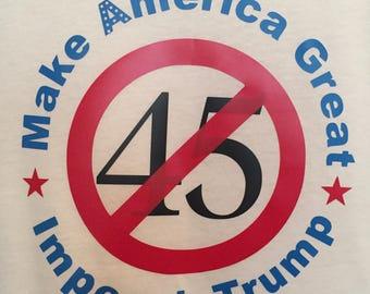 Make America Great, Impeach Trump T-shirt