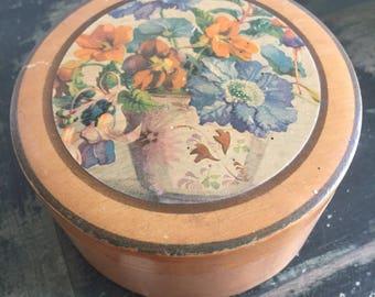 Vintage wooden pretty box