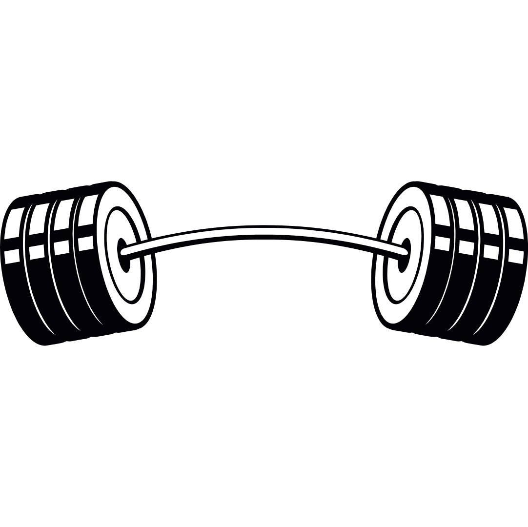 Free Weights Your Design Lyrics: Barbell 4 Curved Bar Weightlifting Bodybuilding Fitness