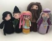 5 hogwarts teachers pack english