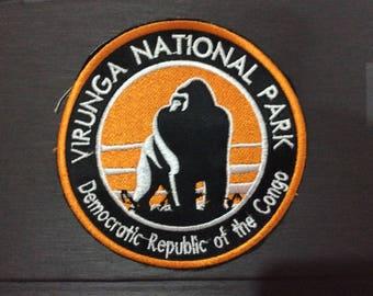 Patch Virunga Nationa Park - Africa - Democratic Republic of Congo - Gorilla - Silverback -