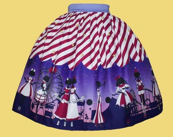 Welcome to the Freakshow Lolita Skirt