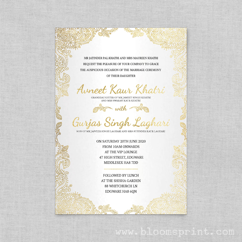 Indian wedding cards, Hindu wedding program, Red wedding ...
