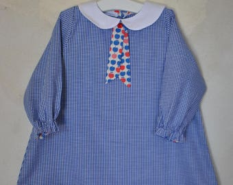 School smock pure cotton
