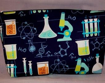 Science themed Zipper Bag