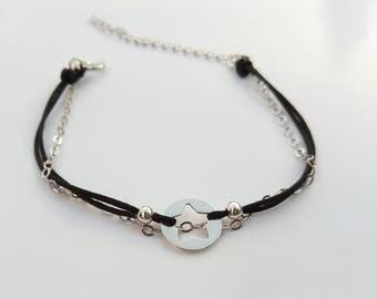 Star and nylon - Creation of chip bracelet