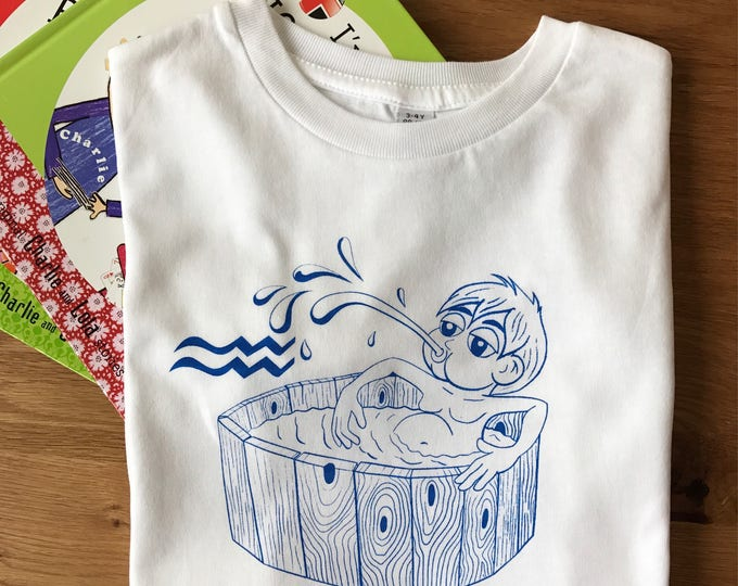 Aquarius Zodiac - Organic Toddler T-shirt
