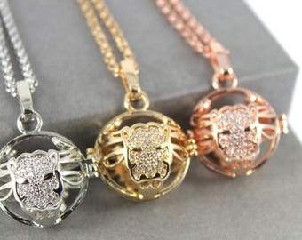Sparkles Zodiac Capricorn Locket with Fillable Glass Orb, Memorial Jewellery, Memorial Locket, Cremation Jewelry, Cremation necklace