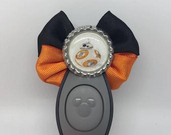 BB8 Star Wars Droid Magic Band Bow Hair Bow