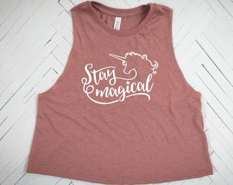 Stay Magical Unicorn, Unicorn tank, Unicorn top, Unicorn shirt, Unicorn mama, Unicorn party, Unicorn aunt, unicorn birthday, unicorn lovers