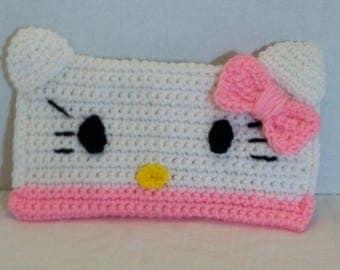 Hello Kitty Pencil Case, Kitty Pencil Case, Hello Kitty Pencil Bag, Hello Kitty Pencil Pouch, Back To School Supplies