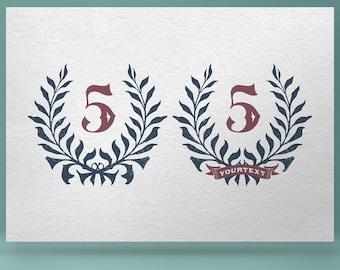 Wreath 04 - hand drawn vector clip art. Vintage wreath, floral wreath, hand drawn wreath, rustic wreath, floral frame, nature wreath