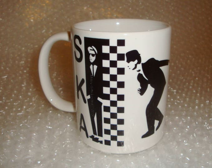 SKA Madness Two Tone Music Mug
