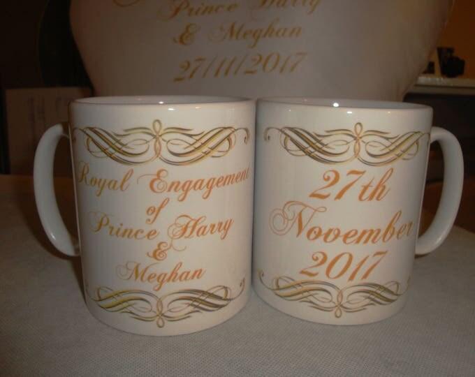 Royal Engagement of Prince Harry & Meghan Mug