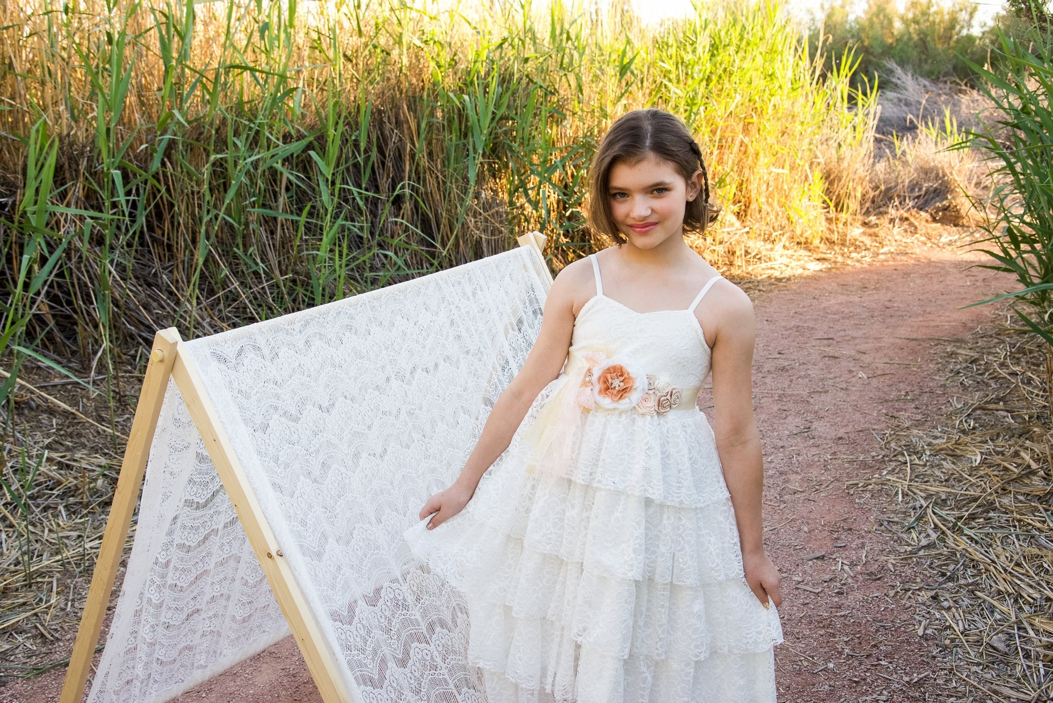 Junior bridesmaid dress flower girl lace dress girls boho dress junior bridesmaid dress flower girl lace dress girls boho dress white lace dress ombrellifo Image collections