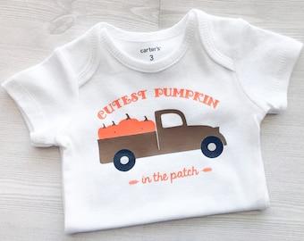 Cutest pumpkin onesie, fall onesie, pumpkin patch onesie