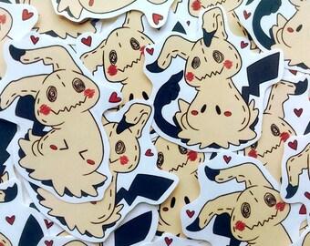 Pokemon Mimikyu Sticker Set