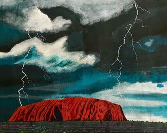 Lightning @ Uluru (SDA1742)