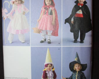 Simplicity 2571   Halloween Costumes For Toddlers