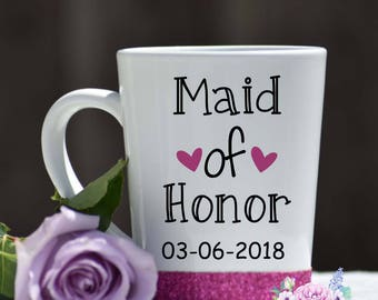 maid of honor, bridal gift, bride, batchlorette, wedding gift