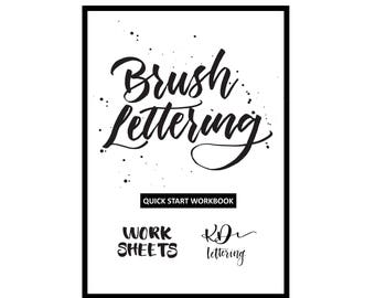 Brush Lettering Quick Start Workbook