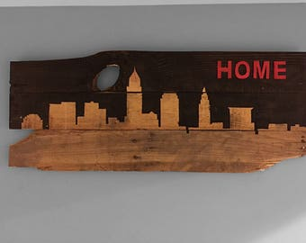 "Cleveland ""HOME"" Skyline"