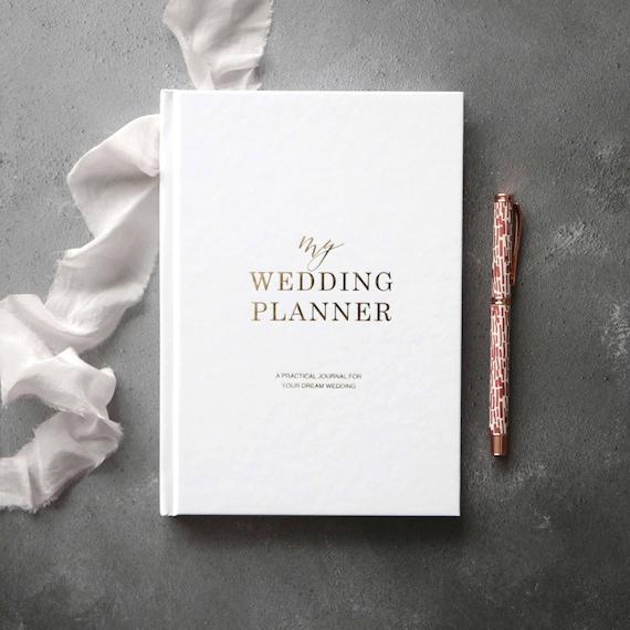 Luxury Wedding Planner Book Engagement Gift